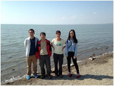 课题组赴内蒙古地区进行野外地质考察